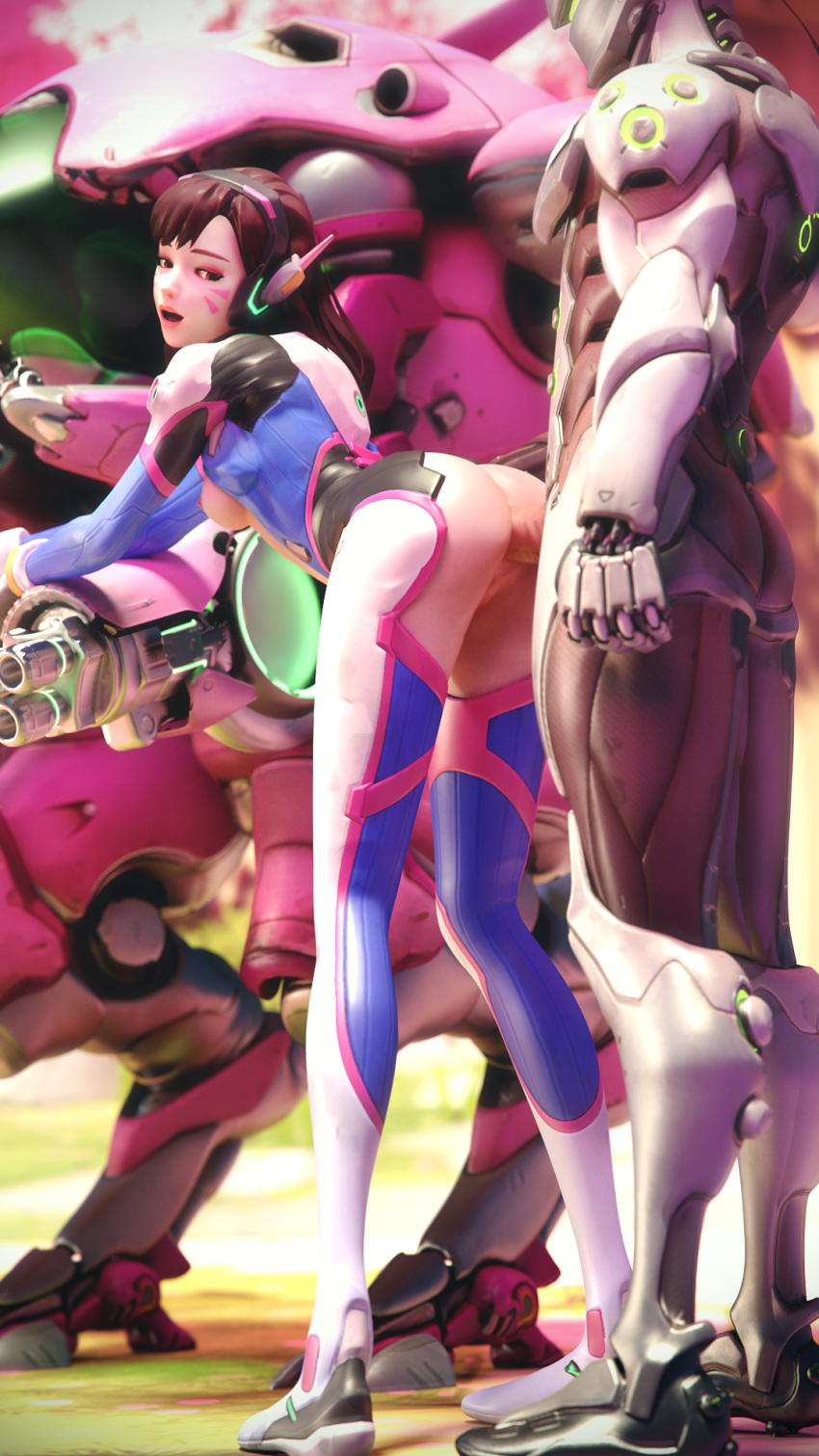 Photo of D.Va & Genji