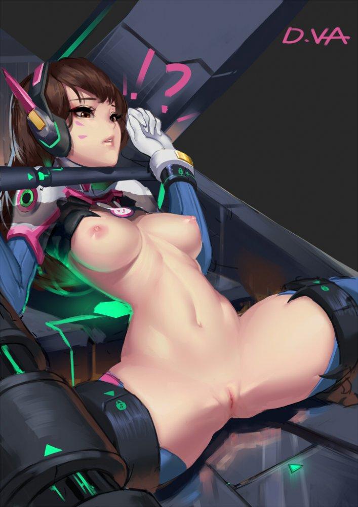 Cian Yo ~ D.Va's Virginity Hentai