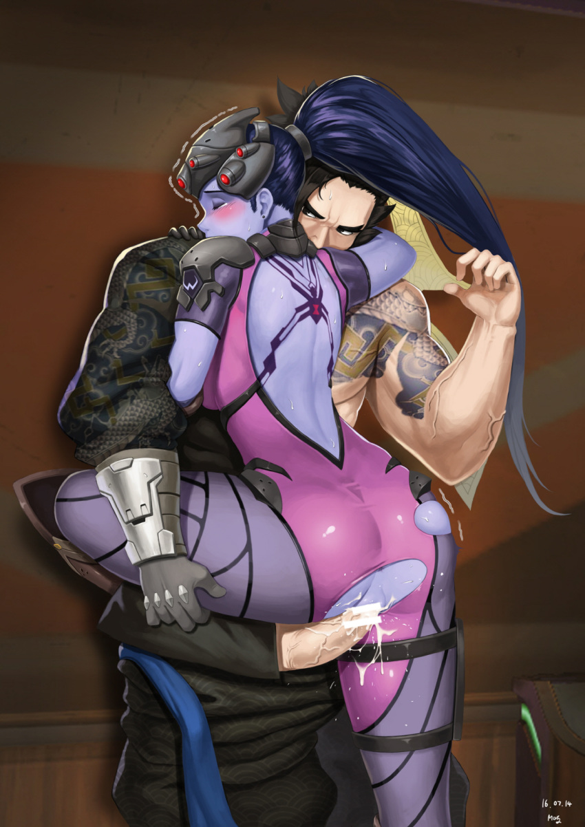 Photo of Widowmaker & Hanzo