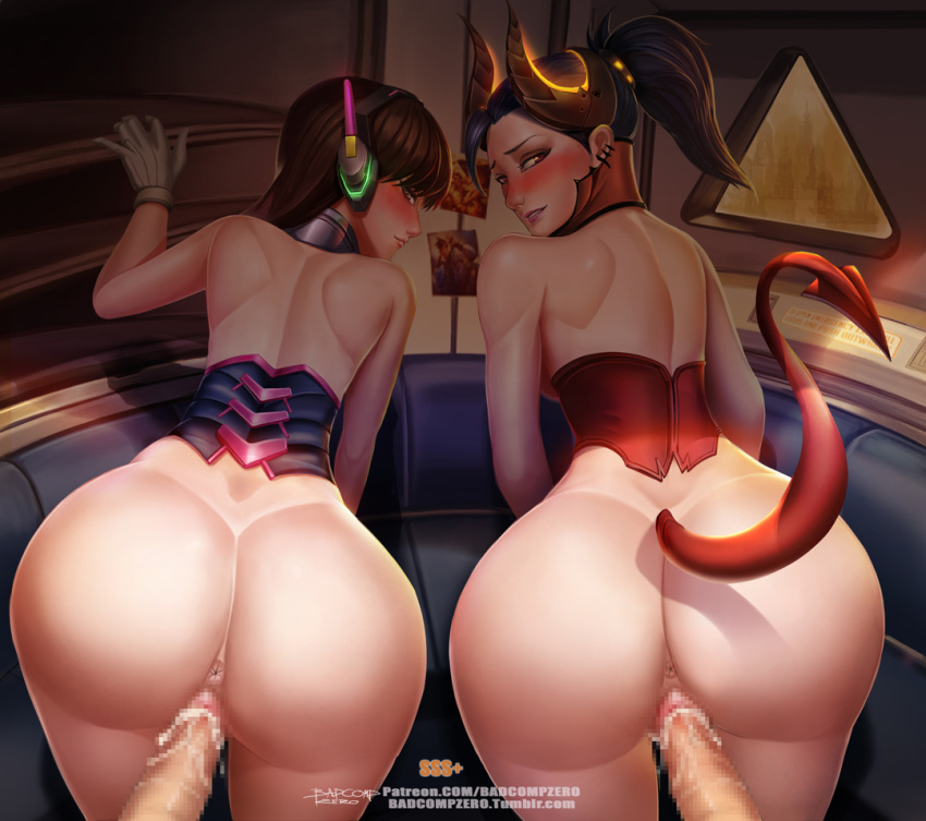 Photo of D.Va & Devil Mercy