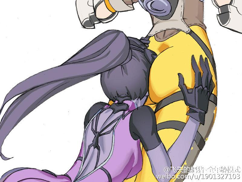 Widowmaker & Tracer Hentai