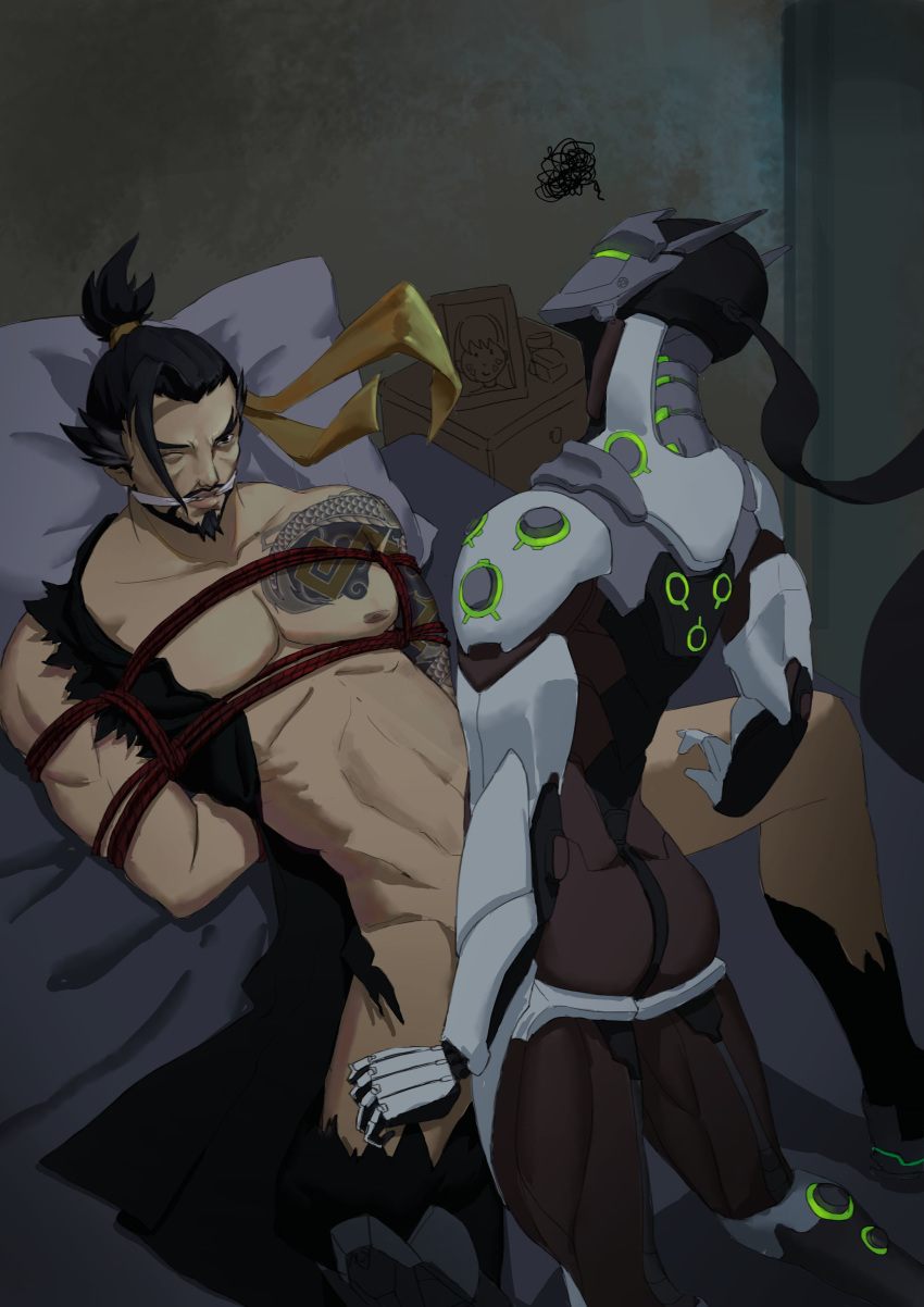 Photo of Hanzo & Genji
